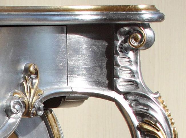 Finiture in foglia oro e foglia argento - ArteFerretto