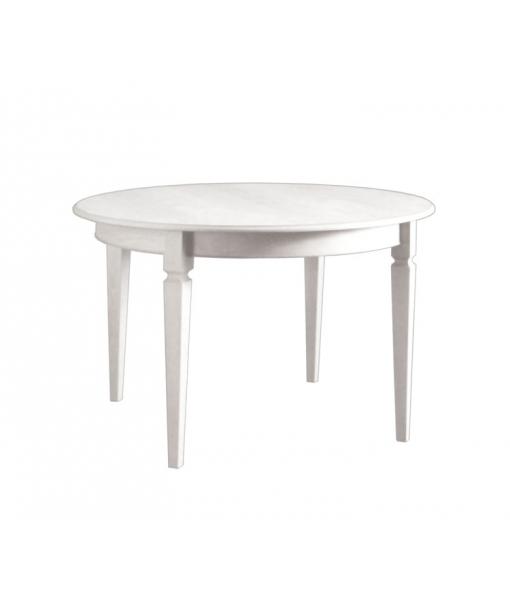Tavolo rotondo allungabile 100 cm arteferretto - Tavolo rotondo bianco allungabile ...