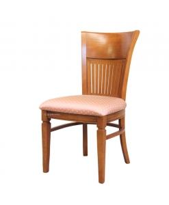 Sedia da cucina in legno schienale alto