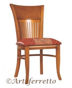 sedia da cucina in legno