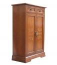 Scarpiera in legno in stile classico