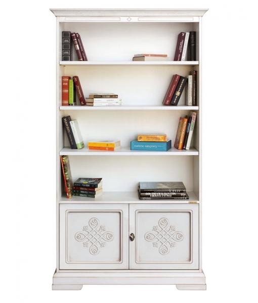 libreria, libreria con due ante, libreria per soggiorno, arredo casa