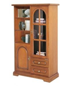 vetrinetta, vetrina, vetrinetta combinata, vetrina per soggiorno, arredo classico, arredo salotto