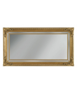 specchiera, specchiera con fregi, specchio