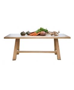 tavolo rovere massello, tavolo in legno, tavolo da cucina