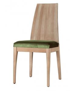 Sedia in legno tinta naturale in faggio