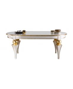 tavolo, tavolo bicolore, tavolo in legno, tavolo per sala da pranzo
