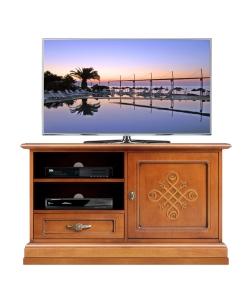 Porta tv con rilievi collezione you