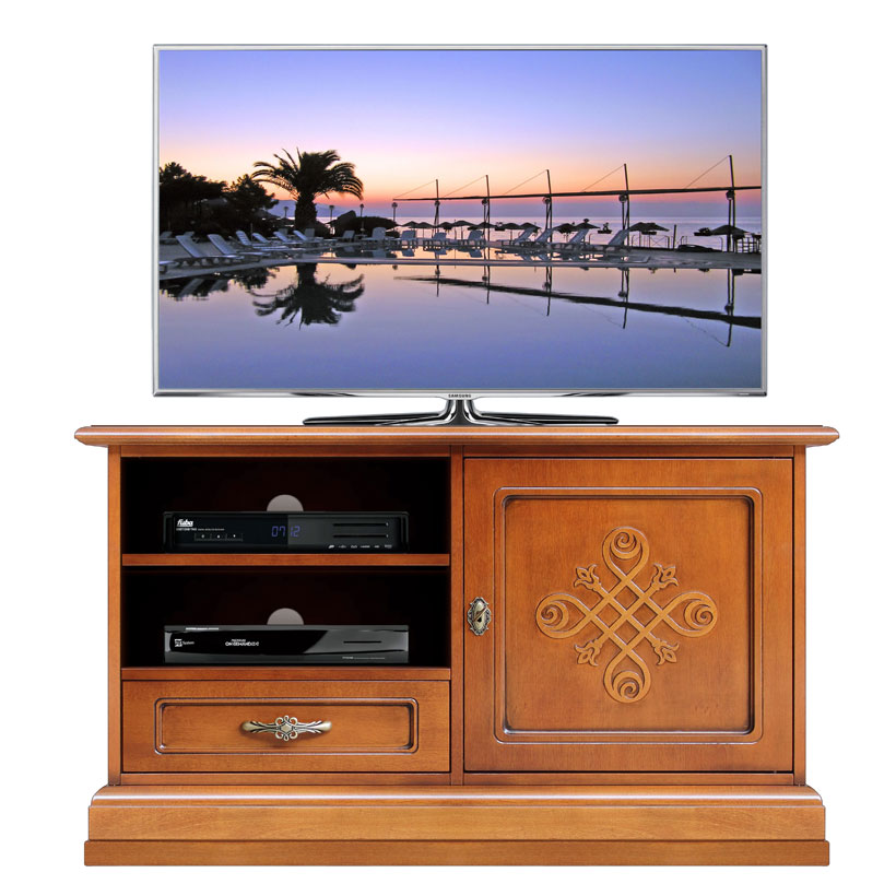 Mobile tv stile classico moderno collezione you - Mobili tv girevoli ...