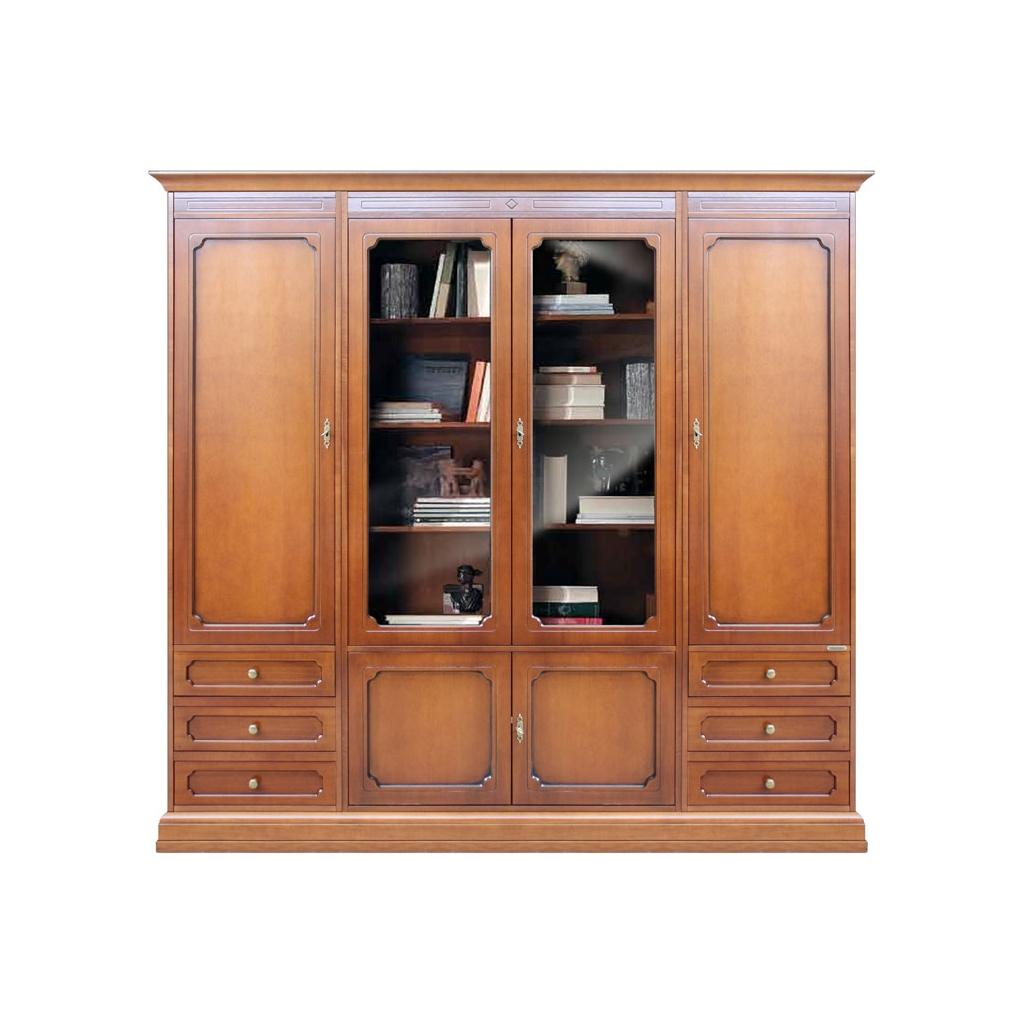 Libreria parete soggiorno, composizione parete