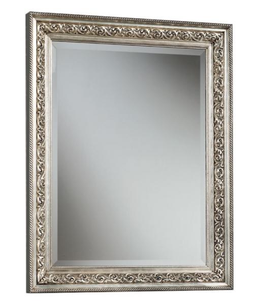 Specchiera classica in foglia oro o argento, Art. P352