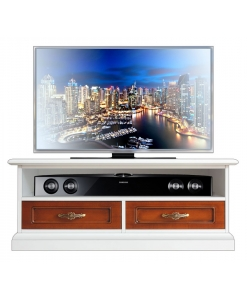 Mobile tv 106 cm bicolore