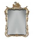 Specchiera classica foglia oro
