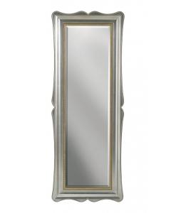 specchiera verticale, specchio, specchiera in argento, specchiera elegante, specchio per salone