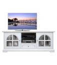 Mobile tv in legno bianco per salotto o soggiorno