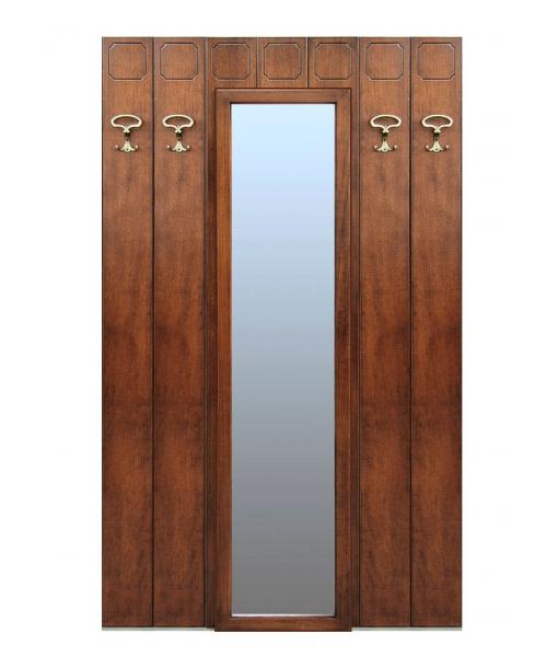 Pannello appendiabiti con specchio centrale arteferretto - Appendiabiti con specchio ...