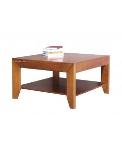Tavolino quadrato con ripiano