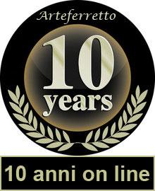 Bollino anniversario 10 anni insieme