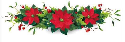 Festone stelle di Natale
