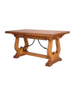 Tavolo da pranzo allungabile stile rustico fino a 360 cm
