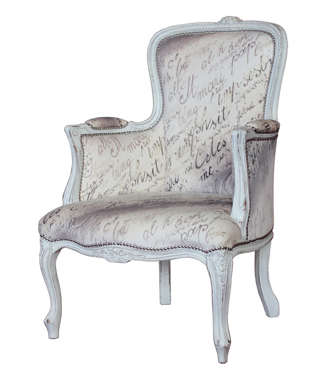 Poltroncina shabby chic \