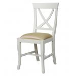Sedia stilizzata laccata, bella e robusta ideale per l'uso di tutti i giorni