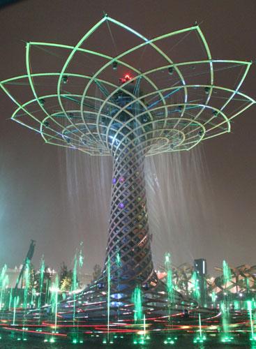 albero della vita all'EXPO Milano 2015