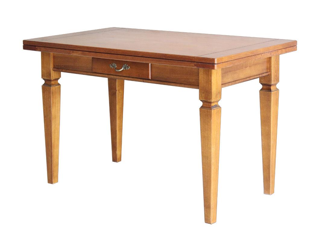 Tavolo salvaspazio allungabile tavolo da pranzo legno - Tavoli da cucina in legno massello ...