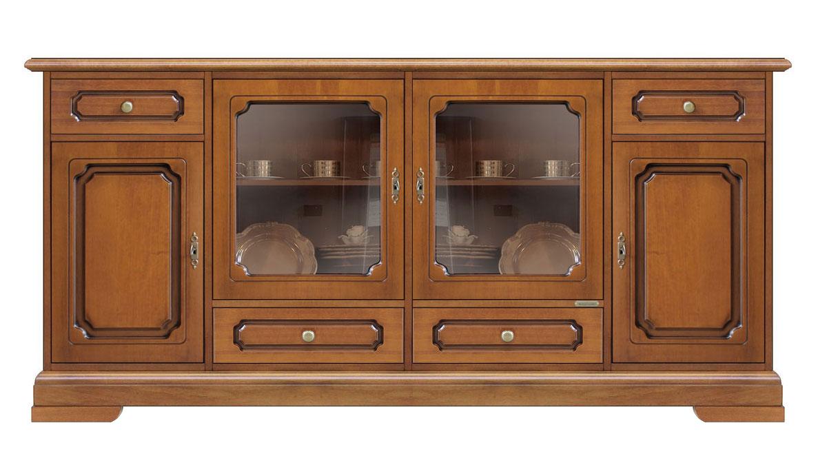 Credenza Da Cucina In Legno : Credenza da cucina in legno naturale tavolo con sedie