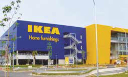 Ikea front