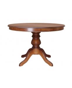 Tavolo rotondo allungabile da sala da pranzo