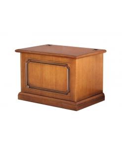 Cassapanca porta pellet o legna