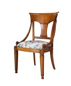 Sedia da pranzo classica in legno