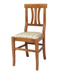 Sedia in legno imbottita