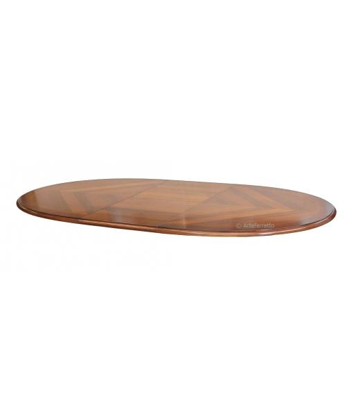 piano, tavolo in legno, piano del tavolo, tavolo ovale, tavolo classico