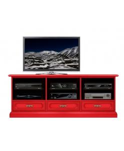Mobile tv in legno 3 cassetti