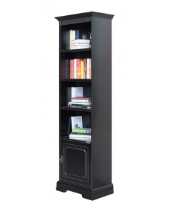 Libreria salvaspazio nera