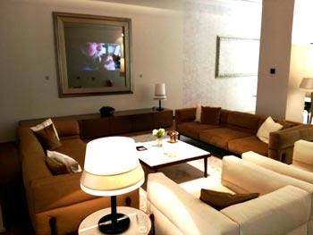 salotto moderno ma accogliente