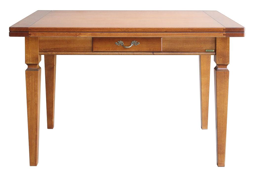 ... Arte Povera : Tavolo da pranzo apribile in legno massello arte povera