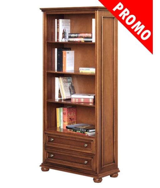 Libreria 2 cassetti, libreria in stile 417-promo
