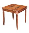 Tavolo da gioco in legno scacchi e dama art. ER-B42