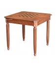 Tavolo classico in legno da gioco 83 x 83 cm