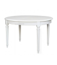 Tavolo ovale in legno laccato per sala da pranzo