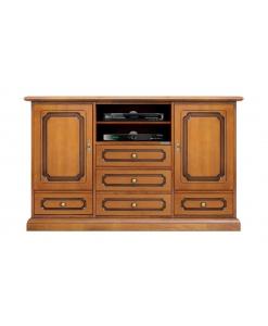 Credenzina porta tv in legno da salotto o cucina