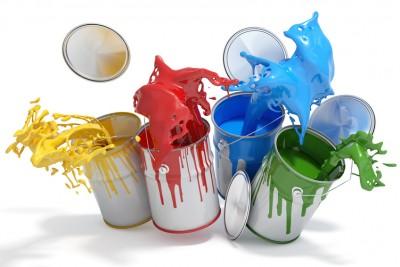 barattoli di colore, colori, sconti colorati