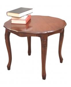 Tavolino rotondo sagomato