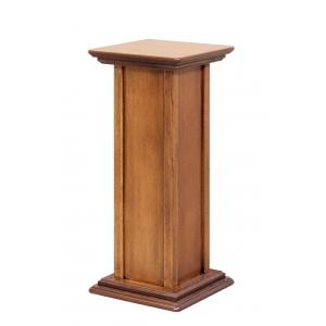 Colonna portavasi in legno da interni