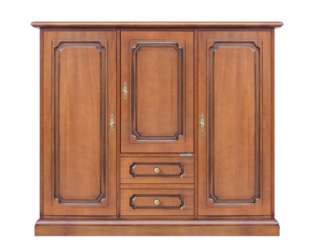 Credenza Classica Per Ingresso : Credenza classica di lusso in legno intagliato per salotto