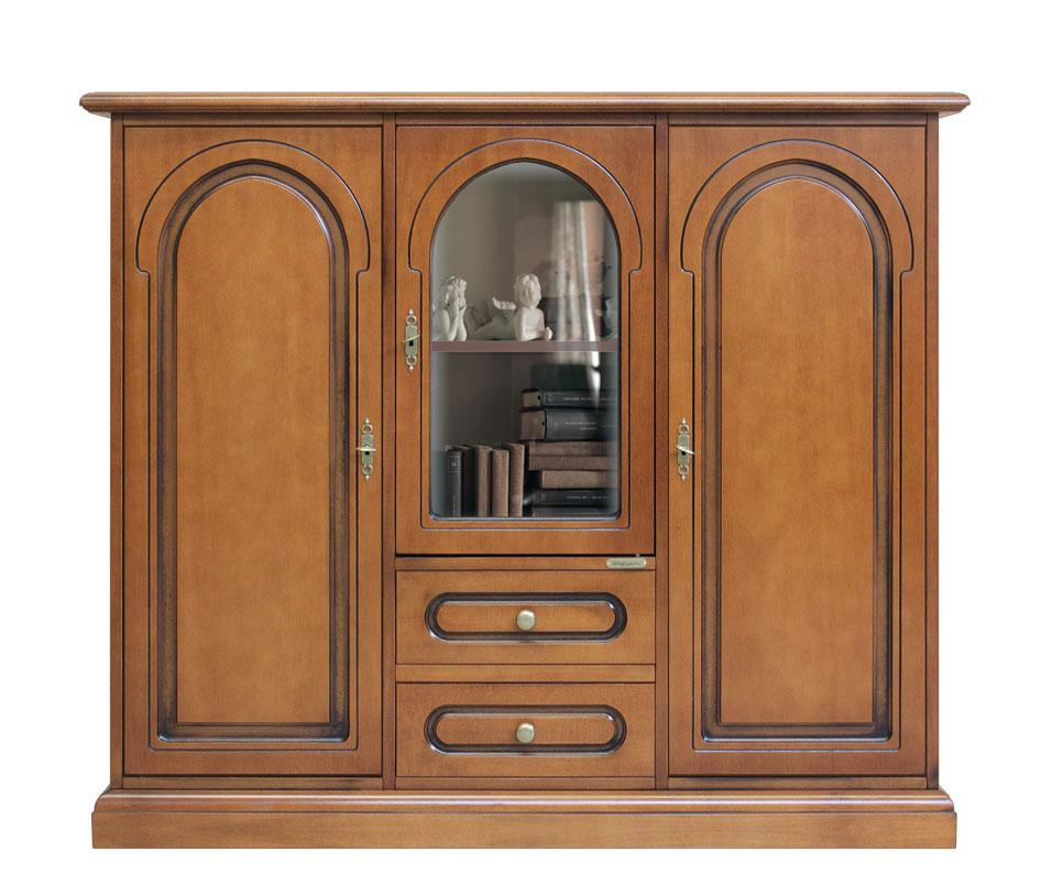 Credenza soggiorno mobile in legno mobile 3 porte stile - Credenza sala da pranzo ...
