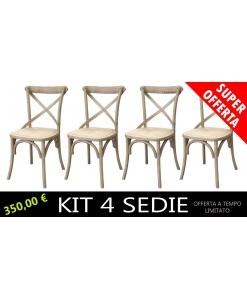 sedie lucidatura naturale, sedie color legno